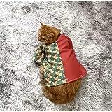 【新品】ペット服 猫、小型犬 コスプレ衣装 悪魔特効 鬼滅の刃 きめつのやいば 富岡義勇 とみおかぎゆう
