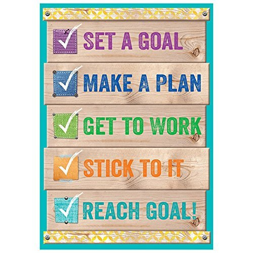 Set a goal - Inspire U Poster - Classroom Motivational Posters by Creative Teaching