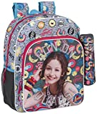 Safta Mochila Escolar Junior Soy Luna 'Athletic' Oficial 320x120x380mm
