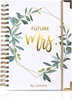 $28 » Wedding Planner Book and Organizer for The Bride, Future Mrs Wedding Planning Book Checklist, Engagement Gift/ Bride to Be...