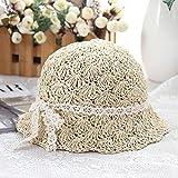 Sombrero de paja de las mujeres Sombrero De Paja Entre Padre