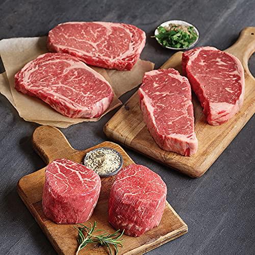 Boneless Ribeyes, 6 count, 16 oz each from Kansas City Steaks