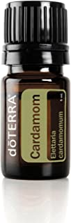 doTERRA - Cardamom Essential Oil - May Help Ease Indigestion and Maintain Overall Gastrointestinal Health, Promotes Clear Breathing and Respiratory Health; For Diffusion, Internal, or Topical Use - 5 mL