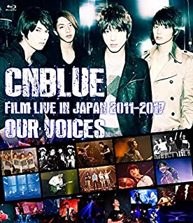 """CNBLUE:FILM LIVE IN JAPAN 2011-2017 """"OUR VOICES""""通常盤(BD) [Blu-ray]"""
