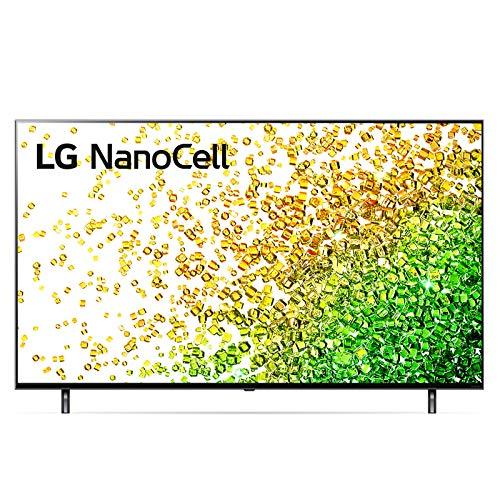 """LG NanoCell 55NANO856PA Smart TV LED 4K Ultra HD 55"""" 2021 con Processore 4K α7 Gen4, Dolby Vision IQ, Wi-Fi, webOS 6.0, Google Assistant e Alexa Integrati, 2 HDMI 2.1, Telecomando Puntatore"""