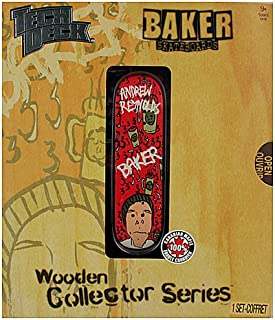 Tech Deck Wooden Collector Series [Baker Skateboards - Andrew Reynolds] by Spin Master
