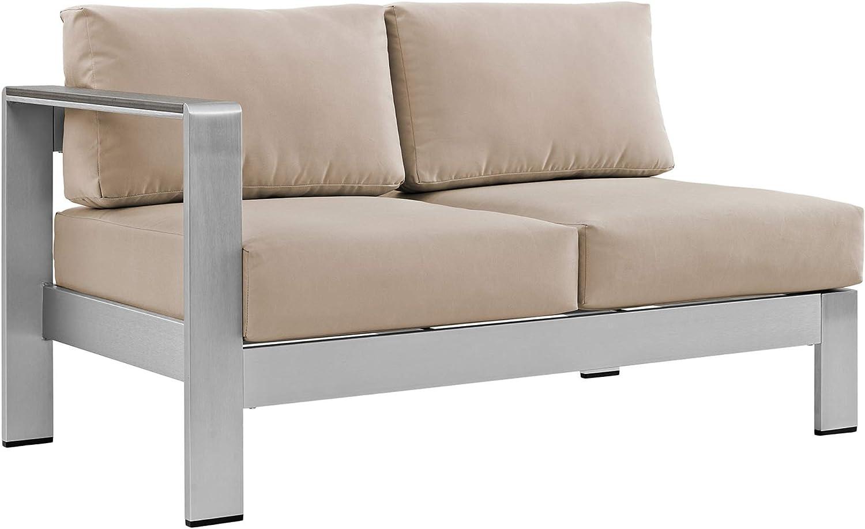 Ergode Shore Left-Arm Daily bargain sale Corner Sectional Super sale Lo Patio Outdoor Aluminum