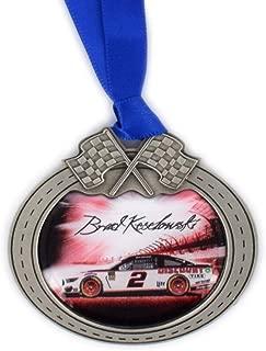 Sparta Brad Keselowski Car Pewter Metal NASCAR Christmas Ornament