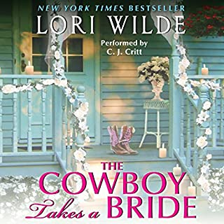 The Cowboy Takes a Bride audiobook cover art