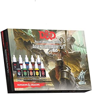 Dungeons and Dragons Official Paint Line Adventurer's Paint Set