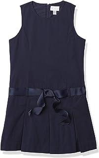 The Children's Place Girls' Uniform Belted Jumper Tidal 4