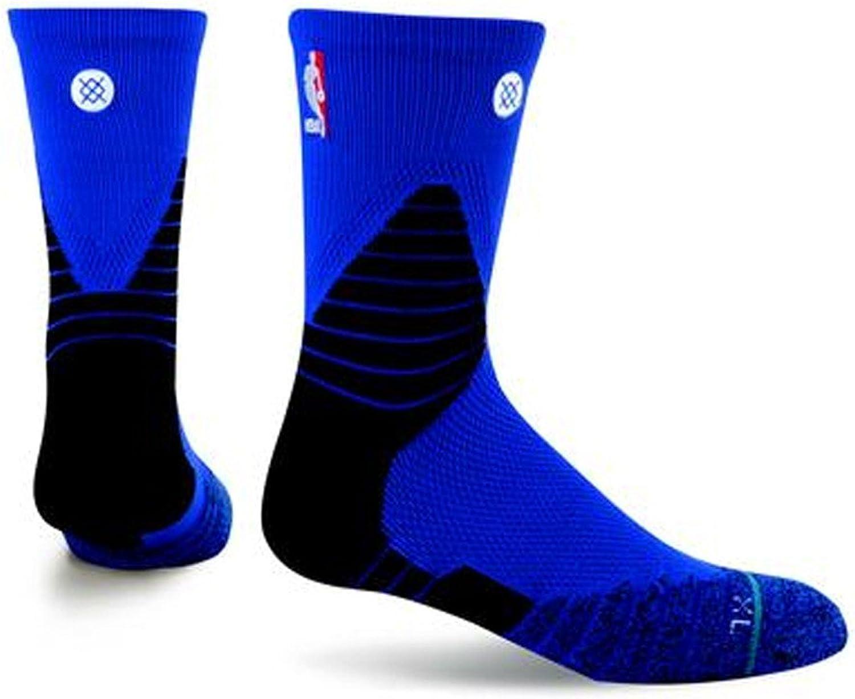 Stance NBA Solid Quarter (Blue, Medium 6-8.5)
