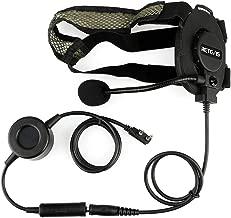 Retevis EH060K 2 Way Radio Headset Tactical Headphone Military Noise Reduction Earpiece for Baofeng UV-5R UV-82 Retevis H-777 Walkie Talkies (1 Pack)
