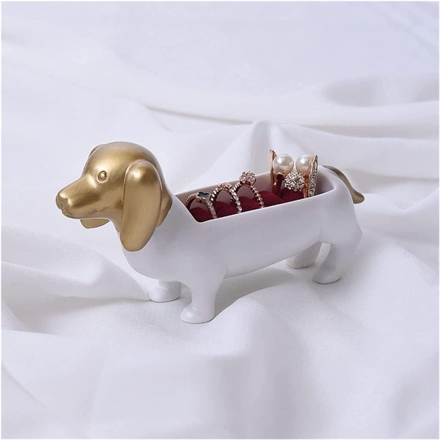LQX Statue Special Campaign Resin Sculpture Dachshund 2021 new Jewelry Box Dog Art