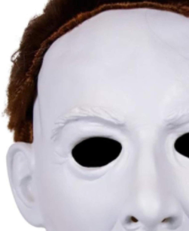 WWWL masker Halloween Horror Latex Masker Volwassen Bruin Haar Masker Voor Halloween Pasen Party Masker B B