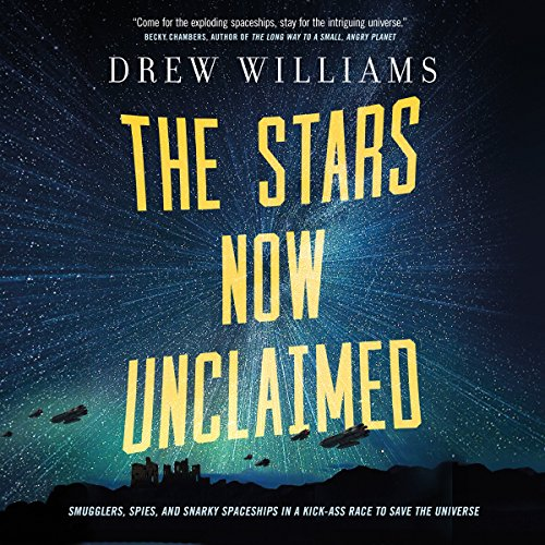The Stars Now Unclaimed audiobook cover art