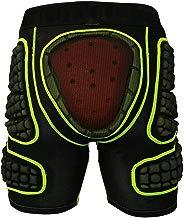 TZTED Pantalones Cortos Acolchados con Protectores Acolchados 3D, Protectoras Mallas con Almohadillas Protectora sequipo de protección para Patinaje