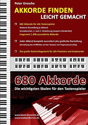 Akkorde finden leicht gemacht: Das große Nachschlagewerk für alle Keyboarder und Pianisten - mehr als 680 Akkorde im Überblick