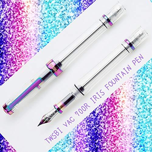 Twsbi Vac700R Iris Penna Stilografica Edizione Limitata (Fine)
