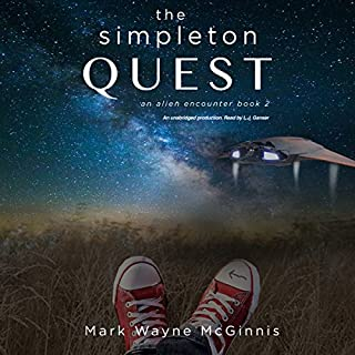 The Simpleton Quest audiobook cover art