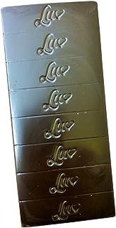 LUV Keto Friendly 80% Dark Chocolate Bar Assortment - Orange, Mint, 2 Solid (4) - Sugar Free Stevia Sweetened Low Carb Gluten Free Dairy Free Vegan Chocolate Bars