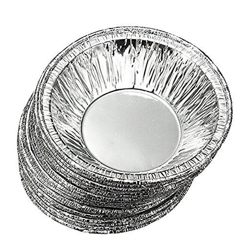 230 piezas desechables de papel aluminio para tartas, cupcakes, moldes para horno de Unicoco