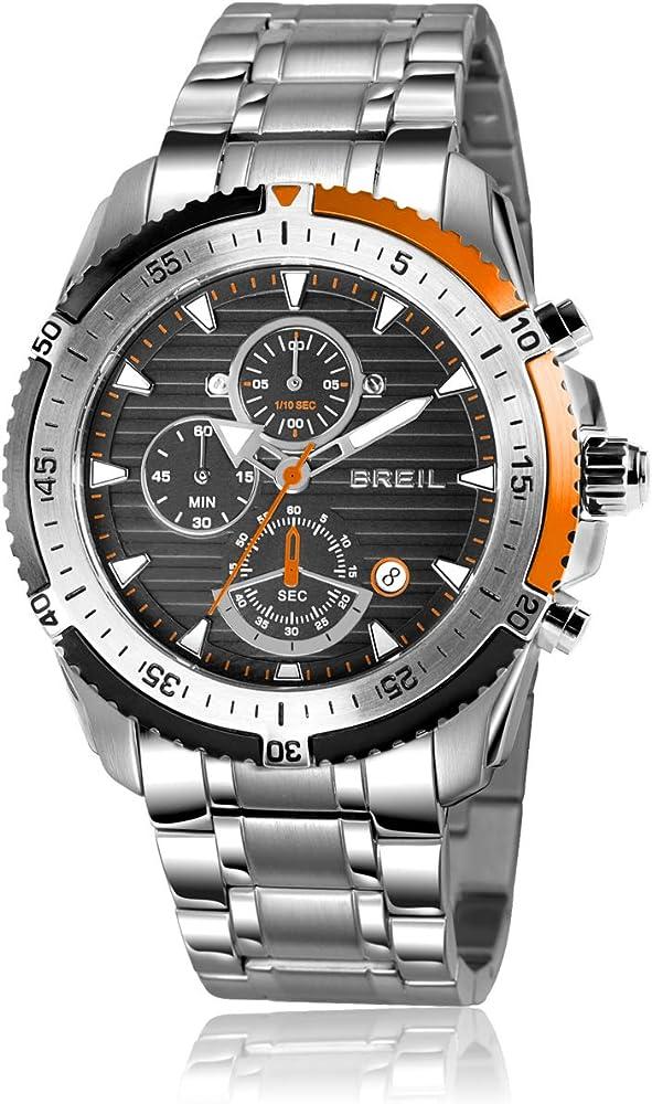 Breil orologio,cronografo per uomo,in acciaio inossidabile TW1431