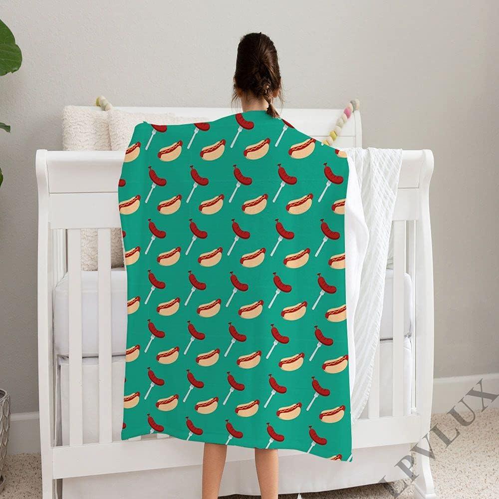 LPVLUX trust Black Hot Dog Super Soft Perfect and Fleece Blanket Max 41% OFF Cozy
