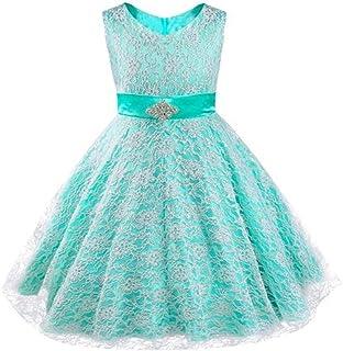 Cocaker Girls Princess Party Graduation Pageant Lace Dress
