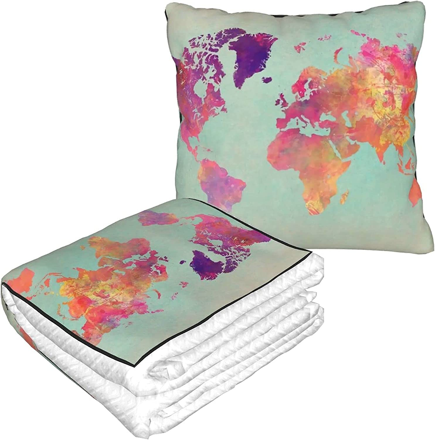 Max 41% OFF Travel Pillow Blanket for Airplanes #Ma #Worldmap Ranking TOP7 102 World Map