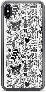 Byeel iPhone 6/6s Funda Antiarañazos Casos Cover 1D Tattoos 2015, Harry Styles A Prueba de Golpes TPU Suave Protectora Transparente