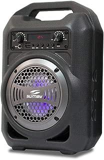 Caixa de Som Bluetooth, SUMAY, Gallon Music 5150, Cinza