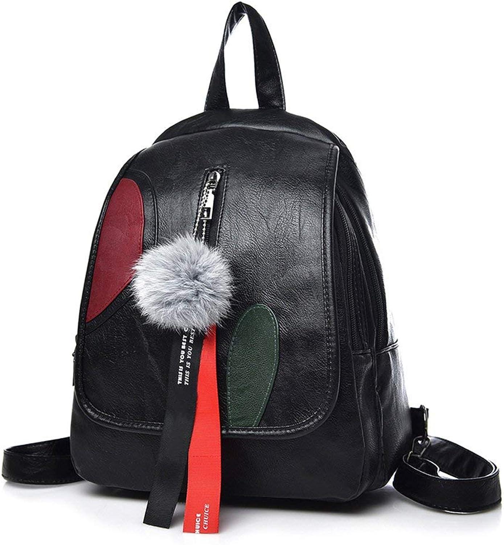 Crystallly Daypacks Erwachsene Backpack Stylisch Vintage Dame Handtasche Umhngetasche Groe Kapazitt Einfacher Stil Dual Use Freizeit Reiserucksack Xxbb