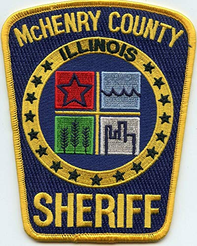 Shoulder Patches for Man & Woman McHenry County Illinois IL Colorful Sheriff Police Patch