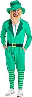Funny St. Patrick's Day Leprechaun Costume - Leprechaun Jumpsuit Costume Unisex