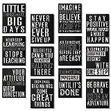 12 Stücke Inspirierende Wand Poster Karton