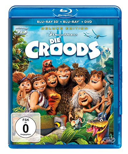 Die Croods (+ Blu-ray 2D) (+ DVD)