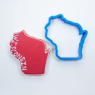 Frosted Cookie Cutters Wisconsin Cookie Cutter (Mini - 1.5 in)