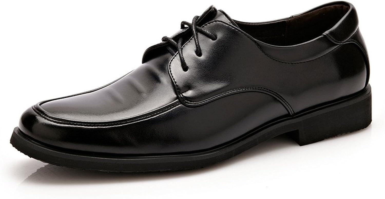 GBY Formale Business-Halbschuhe für Herren aus PU-Leder mit Nähten Design Weiche, Flache Sohle Müßiggänger Atmungsaktiv  | Der neueste Stil