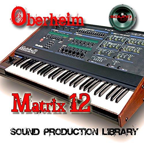 %40 OFF! Oberheim MATRIX-12 - THE KING of analog Sounds - Large unique original 24bit WAVE/Kontakt M...