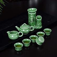 Oryginalny Auto Celadon Sitko do herbaty Herbata Lose A Ceramiczny Filtr Zestaw do herbaty z dzbankiem (kolor: Śliwkowy ni...