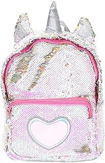 Starte PU Bling Toddler Unicorn Backpack for Girls Trave School Mini  Backpack for Women Sequins Critter c4cd5a88ac0ed
