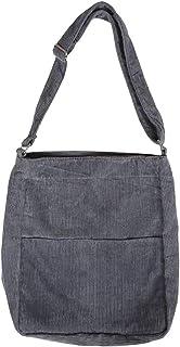 COAFIT Women Shoulder Bag Vintage Adjustable Corduroy Casual Bag Crossbody Bag