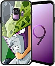 |for Galaxy S9| Ultra-Thin Anti-Scratch Tempered Glass Phone Case, Japanese Manga Game Animation Dragon Ball Series Design 178 Galaxy S9 Cover for Teens and Adults