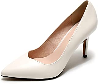 BLUMEN Women Pump Shoes Vancy Milch Leather Casual Business