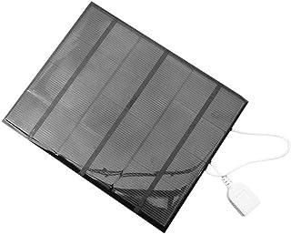 Batterie externe de panneau solaire, batterie externe de panneau solaire d'Usb de 3.5W 6V chargeur de batterie externe cha...