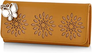 Butterflies Women's Wallet (Mustard) (BNS 2390MSD)