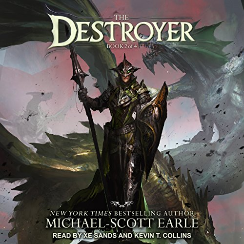 The Destroyer     Destroyer Series, Book 2              By:                                                                                                                                 Michael-Scott Earle                               Narrated by:                                                                                                                                 Kevin T. Collins,                                                                                        Xe Sands                      Length: 17 hrs and 40 mins     730 ratings     Overall 4.5