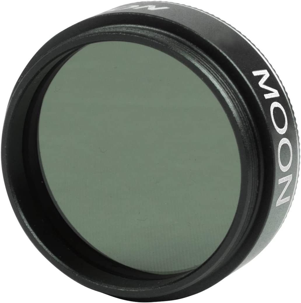 ICE 1.25 Moon 13/% 3 Stop ND Filter Optical Glass for Telescope