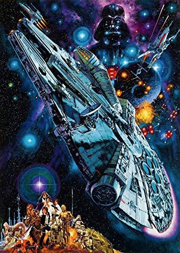 Waniyin Puzzle 1 000 Puzzle Rompecabezas de Cartel de la película de Star Wars Infantiles Juguetes educativos DIY Juguetes Regalo